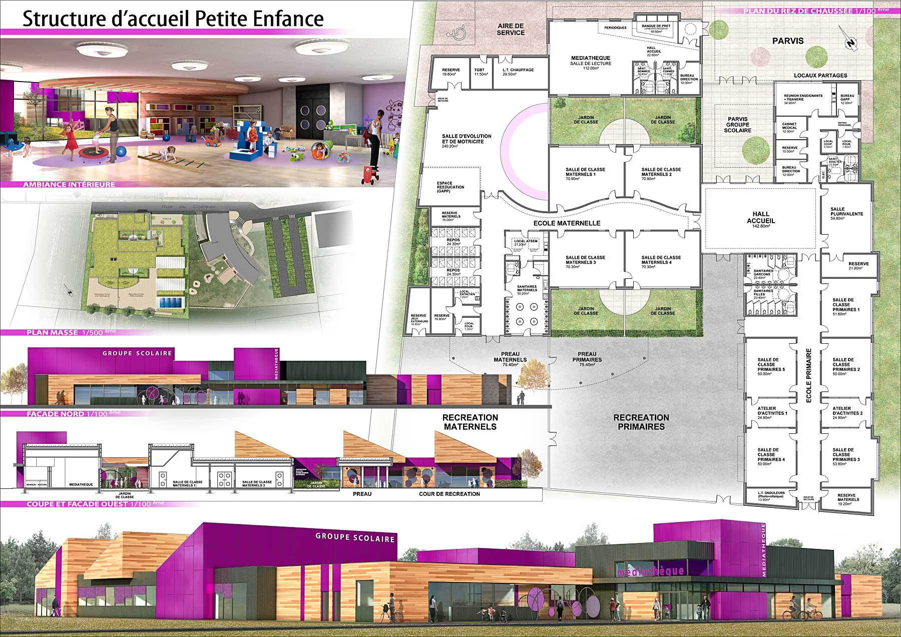 Nos travaux d 39 architecture 2010 for Architecture concours